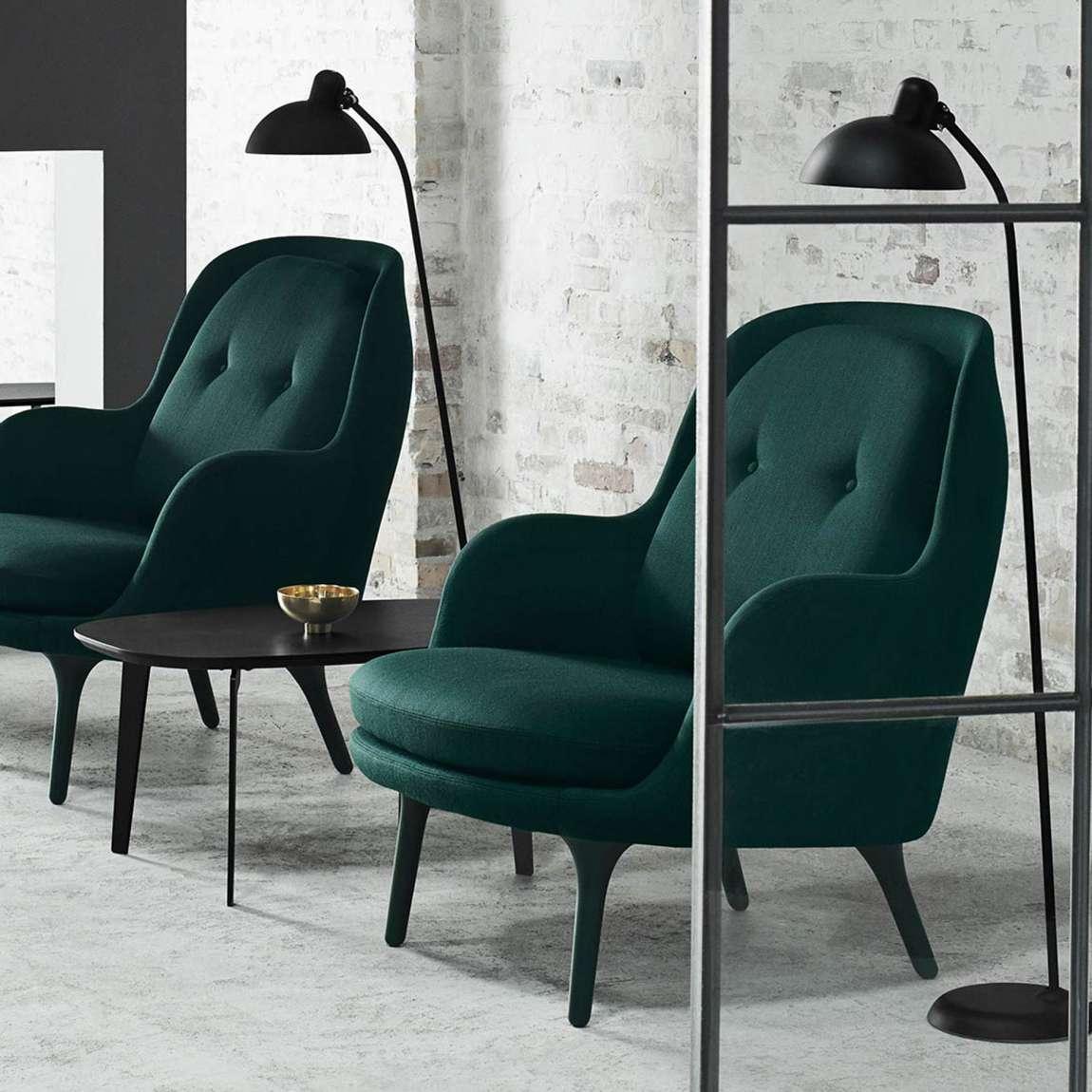 fritz hansen fri armchair trooves. Black Bedroom Furniture Sets. Home Design Ideas