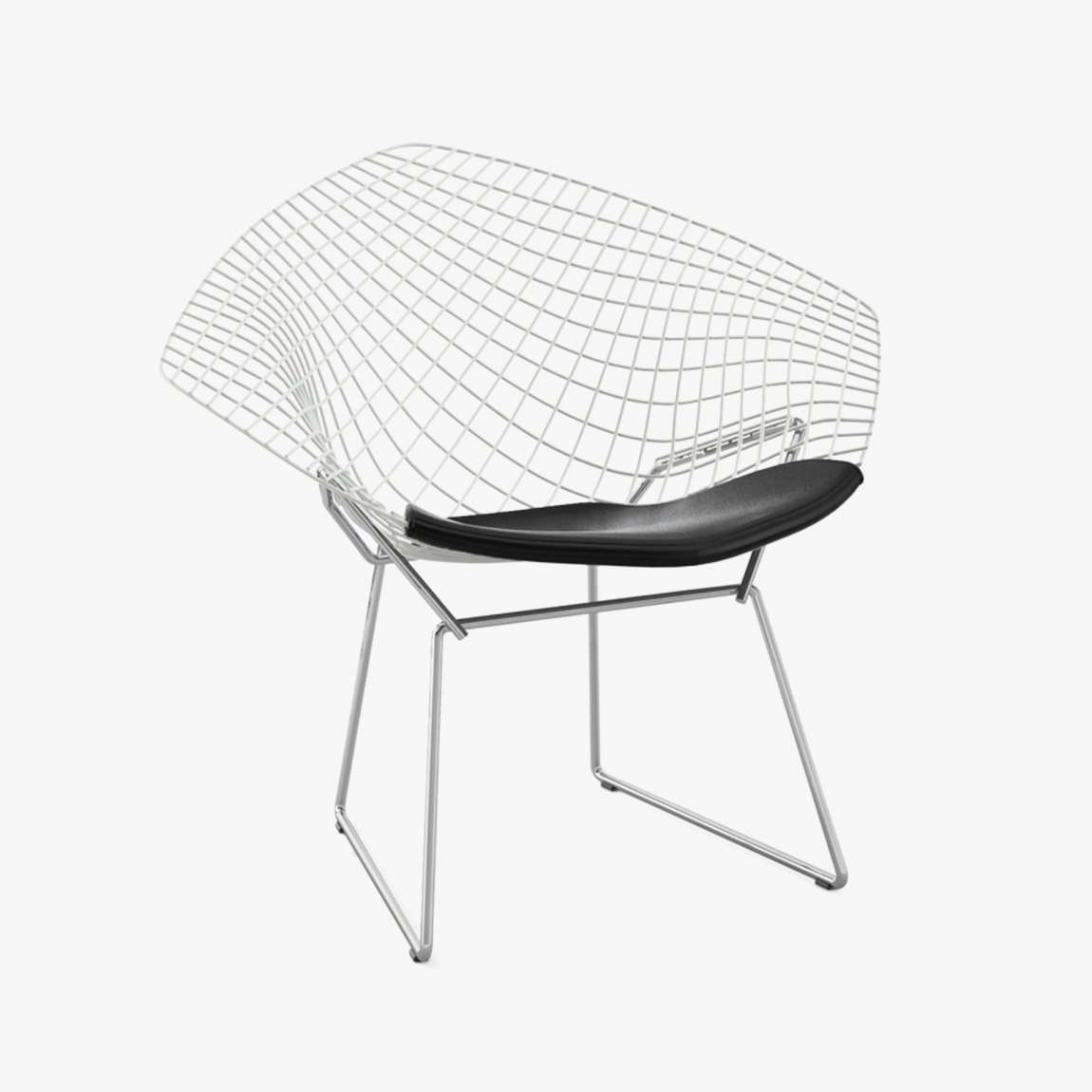 Bertoia diamond chair black - Knoll Bertoia Diamond Sessel Lounge Chair Metall Metal