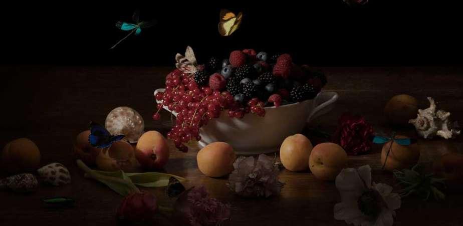 still-life-030_Ellena-Scheufler_bowl with forrest fruits-